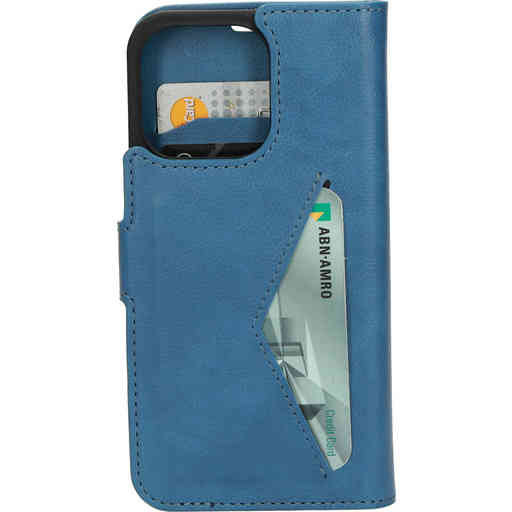 Mobiparts Classic Wallet Case Apple iPhone 13 Pro Steel Blue