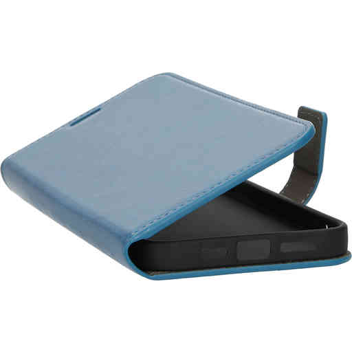 Mobiparts Classic Wallet Case Apple iPhone 13 Pro Max Steel Blue