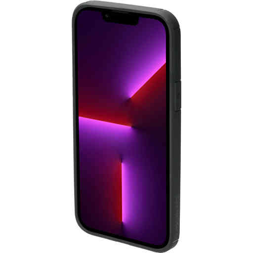 Mobiparts Rugged Clear Case Apple iPhone 13 Pro Max Black