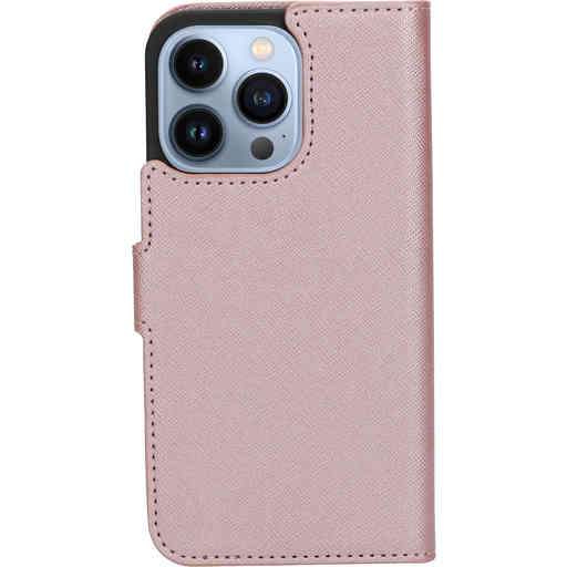 Mobiparts Saffiano Wallet Case Apple iPhone 13 Pro Pink