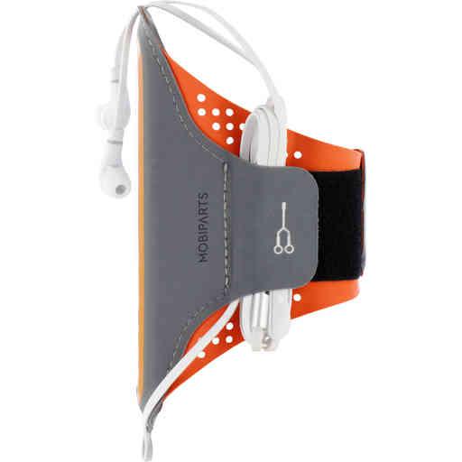 Mobiparts Comfort Fit Sport Armband Apple iPhone 13 Neon Orange