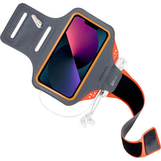 Mobiparts Comfort Fit Sport Armband Apple iPhone 13 Pro Neon Orange