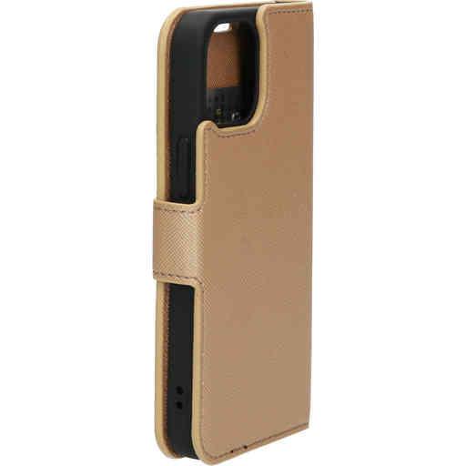 Mobiparts Saffiano Wallet Case Apple iPhone 13 Mini Copper