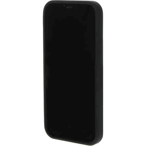 Mobiparts Silicone Cover Apple iPhone 12/12 Pro Black (Magsafe Compatible)