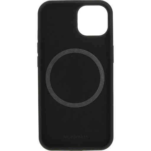 Mobiparts Silicone Cover Apple iPhone 13  Black (Magsafe Compatible)