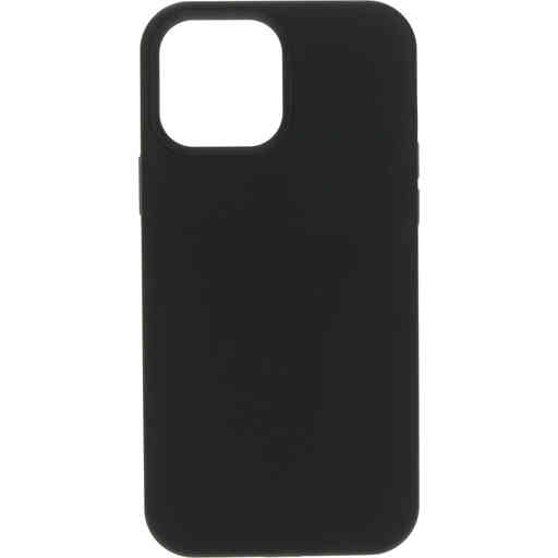 Mobiparts Silicone Cover Apple iPhone 13 Pro Max Black (Magsafe Compatible)