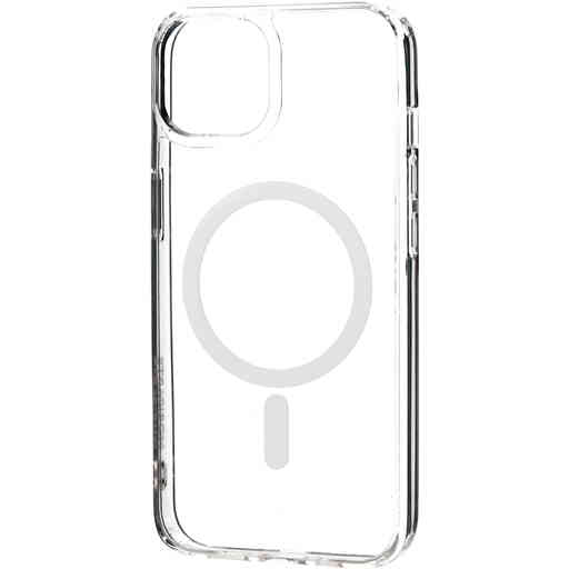 Mobiparts Hardcover Apple iPhone 13 Clear (Magsafe Compatible)