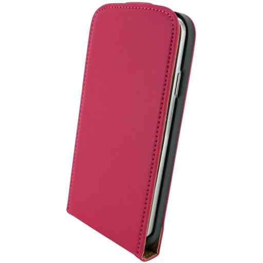 Mobiparts Premium Flip Case Samsung Galaxy S4 Pink