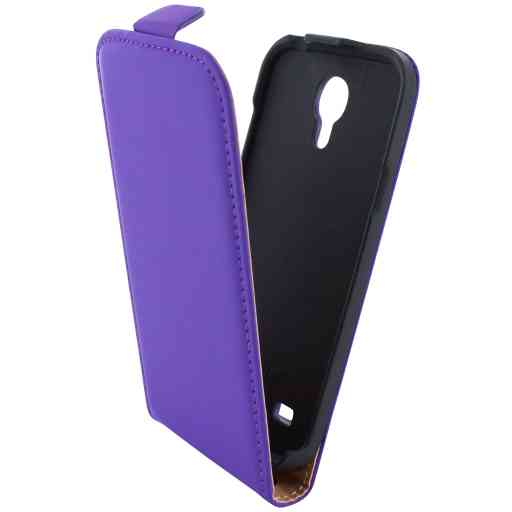 Mobiparts Premium Flip Case Samsung Galaxy S4 Mini Purple