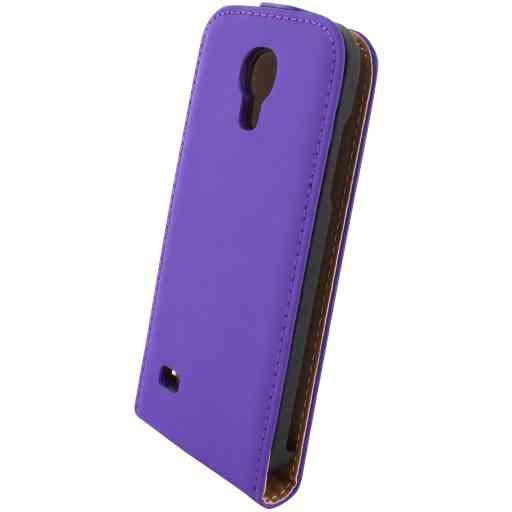 Mobiparts Premium Flip Case Samsung Galaxy S4 Mini Purple