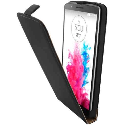Mobiparts Premium Flip Case LG G3 Black