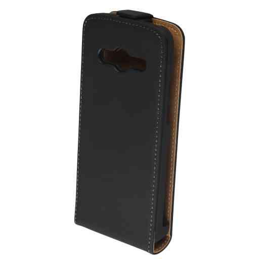 Mobiparts Premium Flip Case Samsung Galaxy Core LTE G386F Black