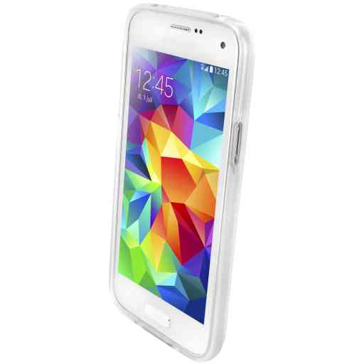 Mobiparts Classic TPU Case Samsung Galaxy S5 Mini Transparent