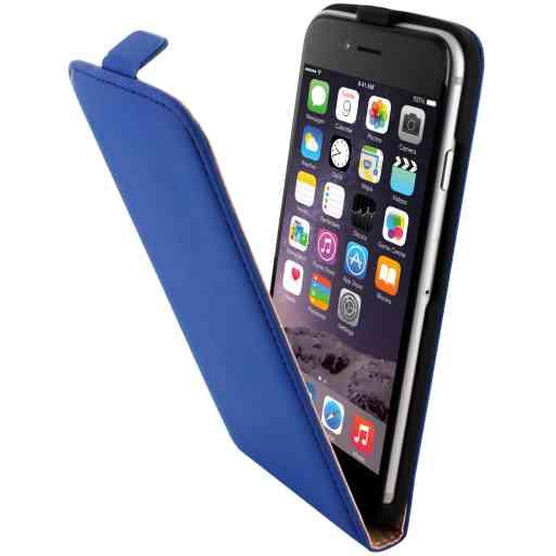 Mobiparts Premium Flip Case Apple iPhone 6/6S Blue