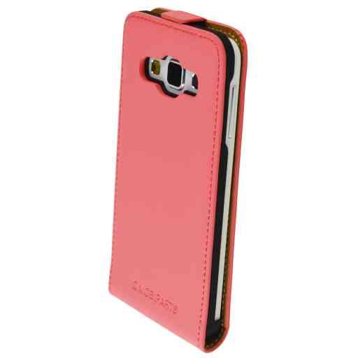 Mobiparts Premium Flip Case Samsung Galaxy A3 Peach Pink