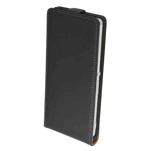 Mobiparts Premium Flip Case Sony Xperia Z3 / Z3+ Black