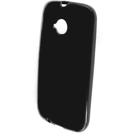 Mobiparts Classic TPU Case Motorola Moto E (2nd gen / 2015) Black