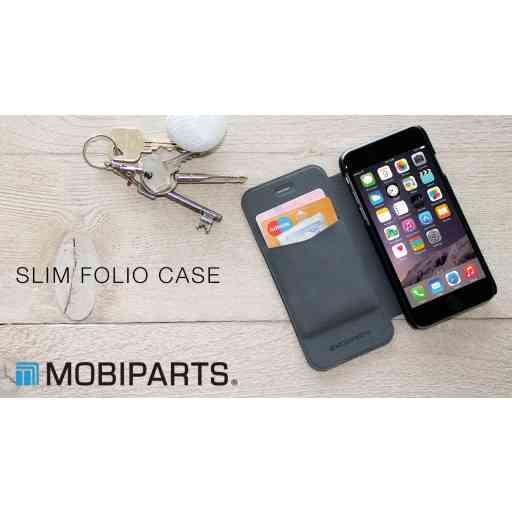 Mobiparts Slim Folio Case Samsung Galaxy S5 Mini Black