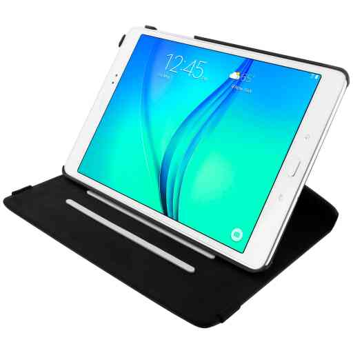 Mobiparts 360 Rotary Stand Case Samsung Galaxy Tab A 9.7 Black