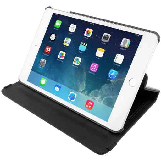 Mobiparts 360 Rotary Stand Case Apple iPad Mini (2019) / Apple iPad Mini 4 Black