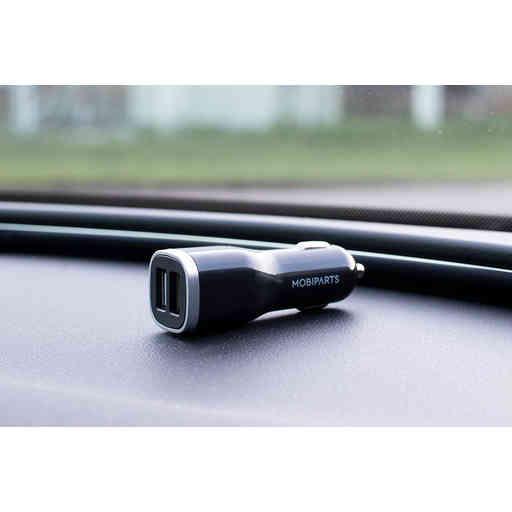 Mobiparts Car Charger Dual USB 4.8A Black