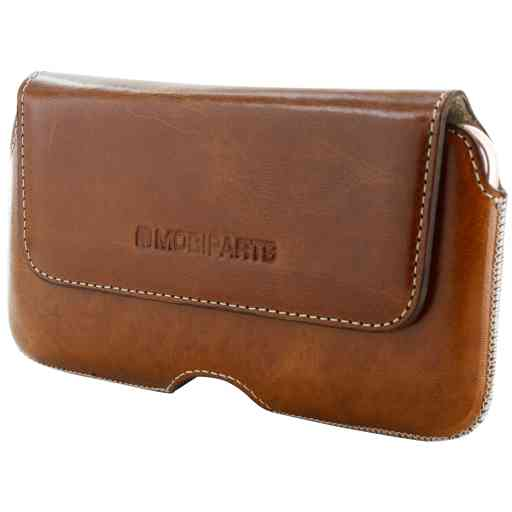 Mobiparts Excellent Belt Case Size 3XL Oaked Cognac