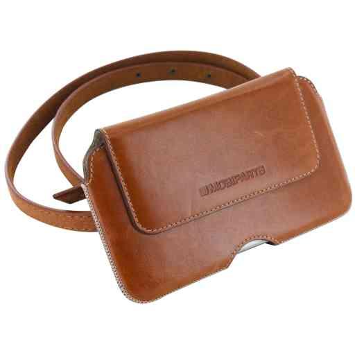 Mobiparts Excellent Belt Case Size 3XL Oaked Cognac