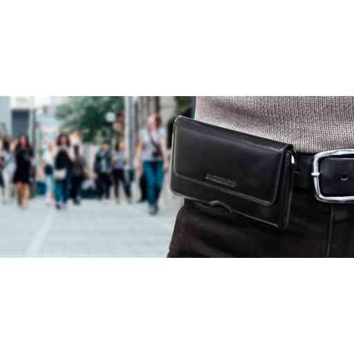 Mobiparts Excellent Belt Case Size 4XL Jade Black