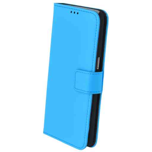 Mobiparts Premium Wallet Case Samsung Galaxy S7 Light Blue