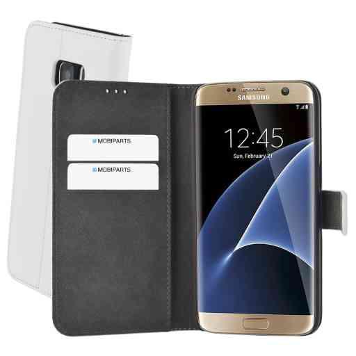 Mobiparts Premium Wallet Case Samsung Galaxy S7 White