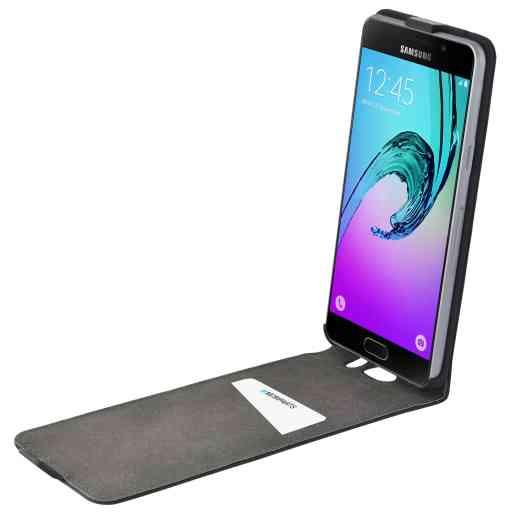 Mobiparts Premium Flip Case Samsung Galaxy A5 (2016) Black