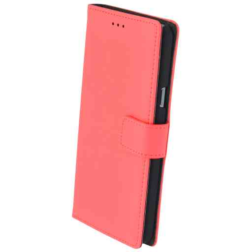 Mobiparts Premium Wallet Case Samsung Galaxy A5 (2016) Peach Pink