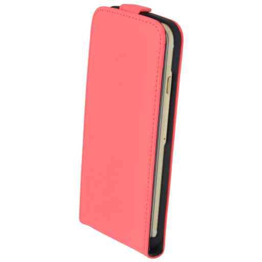 Mobiparts Premium Flip Case Apple iPhone 6/6S Peach Pink