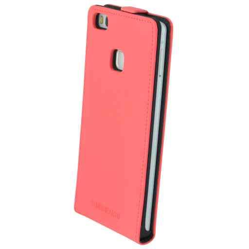 Mobiparts Premium Flip Case Huawei P9 Lite Peach Pink