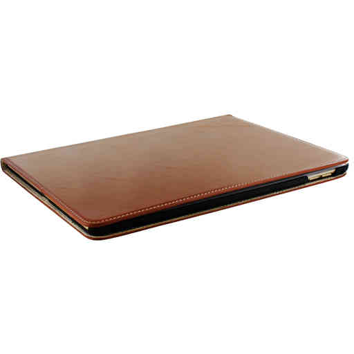 Mobiparts Excellent Tablet Case Apple iPad Air 2 / Pro 9.7 Oaked Cognac