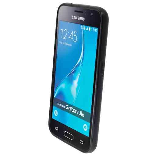 Mobiparts Classic TPU Case Samsung Galaxy J1 (2016) Black