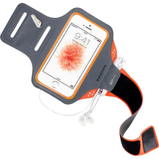 Mobiparts Comfort Fit Sport Armband Apple iPhone 5/5S/SE Neon Orange