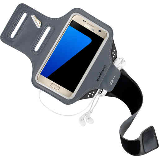 Mobiparts Comfort Fit Sport Armband Samsung Galaxy S7 Black
