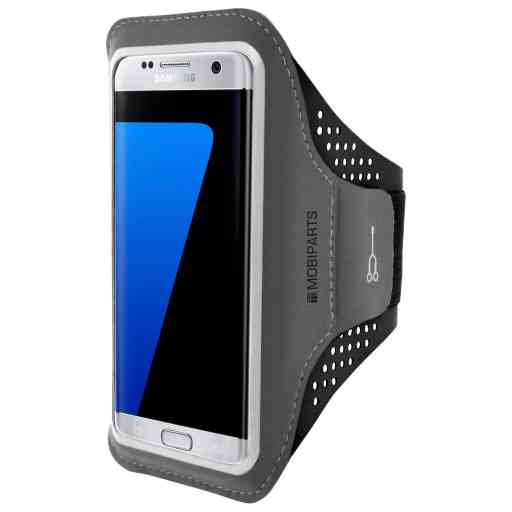 Mobiparts Comfort Fit Sport Armband Samsung Galaxy S7 Edge Black