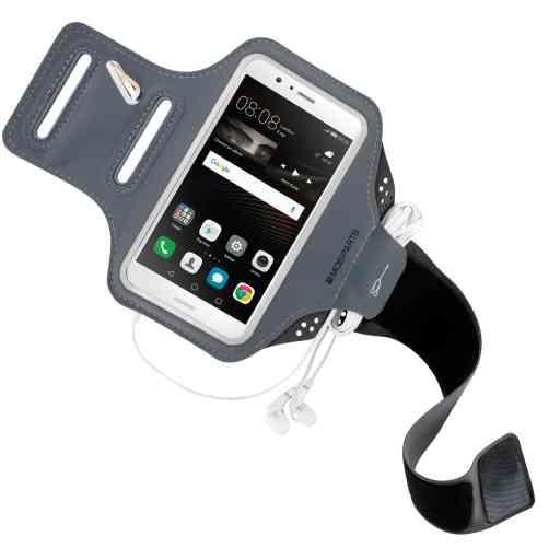 Mobiparts Comfort Fit Sport Armband Huawei P9 Lite Black