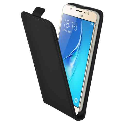 Mobiparts Premium Flip Case Samsung Galaxy J5 (2016) Black
