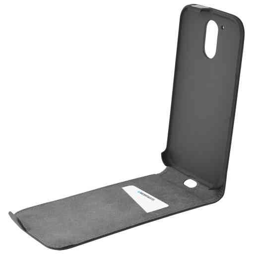 Mobiparts Premium Flip Case Motorola Moto G4 / G4 Plus Black