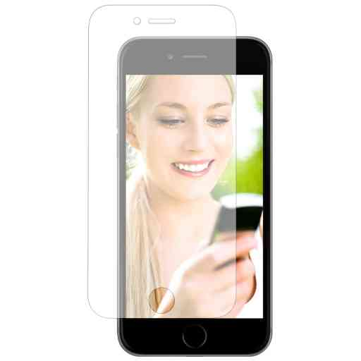 Mobiparts Screenprotector Apple iPhone 6/6S/7/8/SE (2020) - Clear (2 pack)