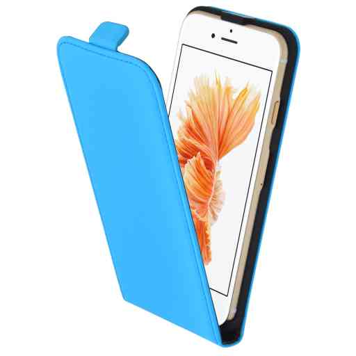 Mobiparts Premium Flip Case Apple iPhone 7/8/SE (2020) Light Blue