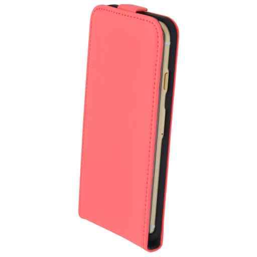 Mobiparts Premium Flip Case Apple iPhone 7/8/SE (2020) Peach Pink