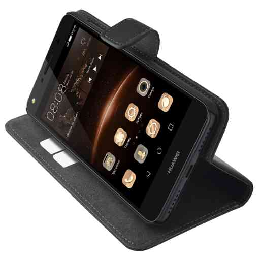 Mobiparts Premium Wallet Case Huawei Y5 II / Y6 II Compact Black