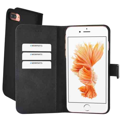 Mobiparts Premium Wallet Case Apple iPhone 7 Plus/8 Plus Black