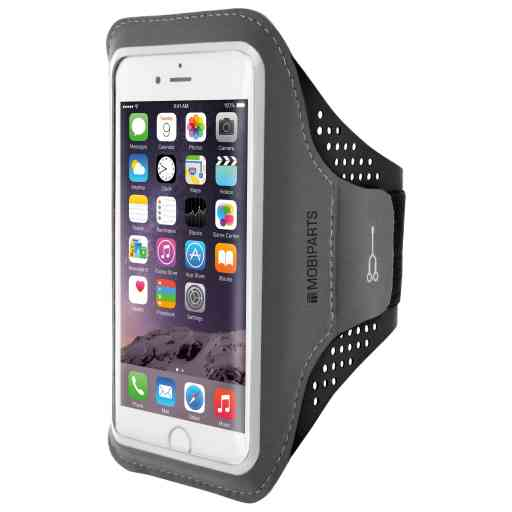 Mobiparts Comfort Fit Sport Armband Apple iPhone 6/6S/7/8/SE (2020) Black