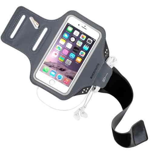 Mobiparts Comfort Fit Sport Armband Apple iPhone 6/6S/7/8/SE (2020) Black
