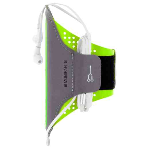 Mobiparts Comfort Fit Sport Armband Apple iPhone 6/6S/7/8/SE (2020) Neon Green